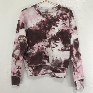 Maisie Tie Dye Pullover Sweatshirt Z BY ZELLA